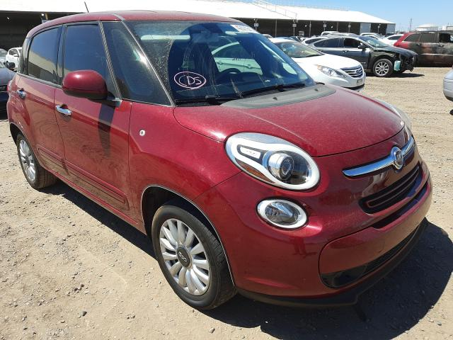 Fiat salvage cars for sale: 2014 Fiat 500L Easy