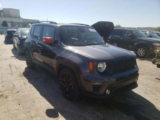 Salvage cars for sale from Copart Tulsa, OK: 2020 Jeep Renegade L