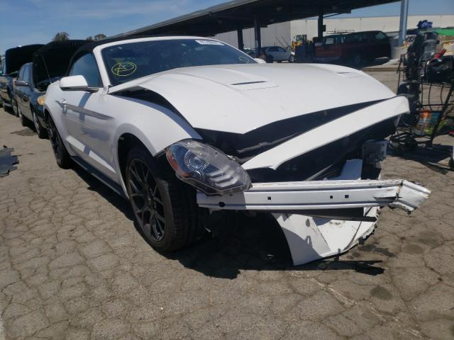 Salvage cars for sale from Copart Hayward, CA: 2018 Ford Mustang