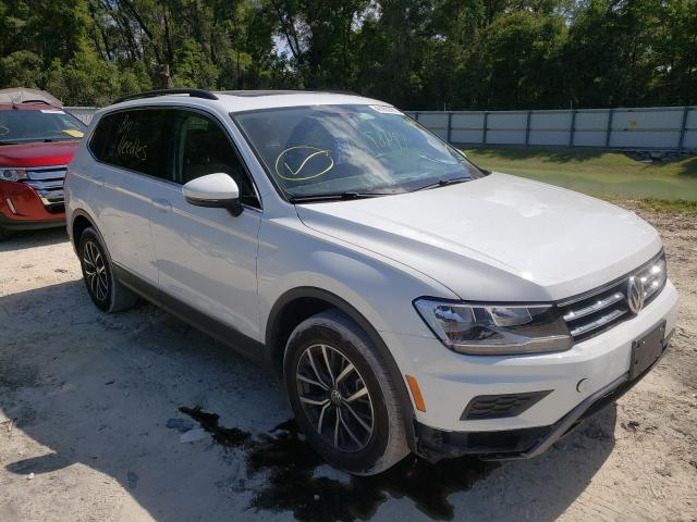 Salvage cars for sale from Copart Ocala, FL: 2020 Volkswagen Tiguan SE