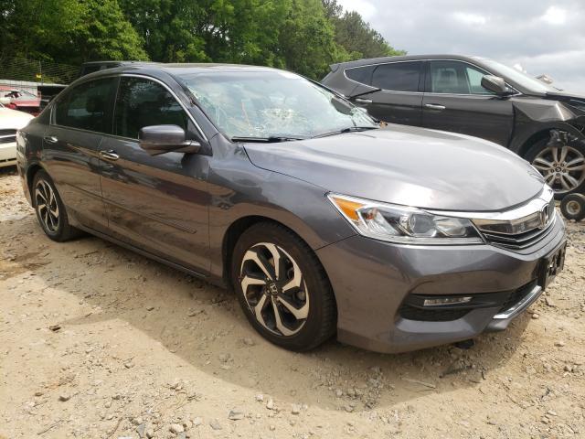 Vehiculos salvage en venta de Copart Austell, GA: 2016 Honda Accord EXL