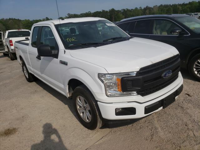 Salvage cars for sale from Copart Harleyville, SC: 2018 Ford F150 Super
