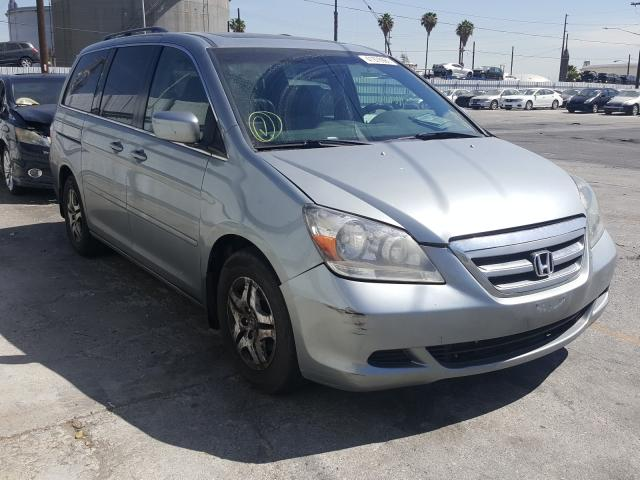 Salvage cars for sale from Copart Wilmington, CA: 2006 Honda Odyssey EX