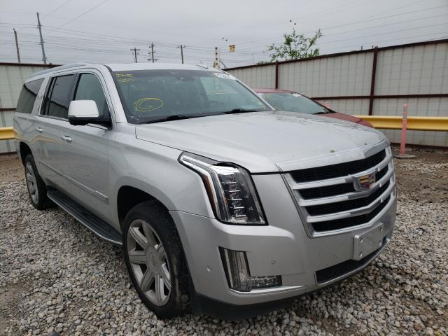 Salvage cars for sale from Copart Haslet, TX: 2017 Cadillac Escalade E