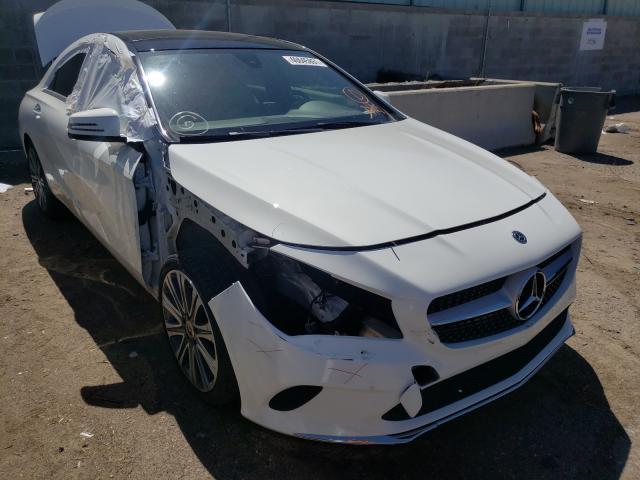 Mercedes-Benz salvage cars for sale: 2019 Mercedes-Benz CLA 250