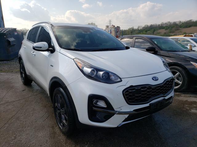 KIA Vehiculos salvage en venta: 2020 KIA Sportage S