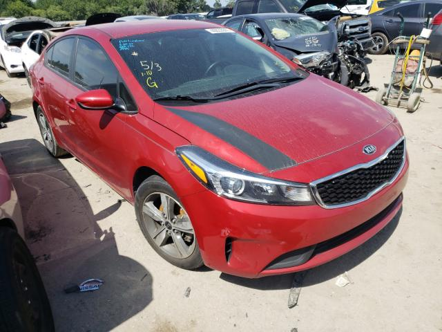 Salvage cars for sale from Copart Riverview, FL: 2018 KIA Forte LX