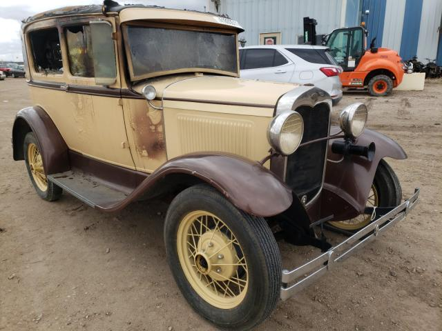 Salvage cars for sale from Copart Casper, WY: 1930 Ford Model A