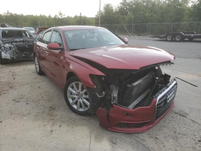 Audi A6 salvage cars for sale: 2015 Audi A6