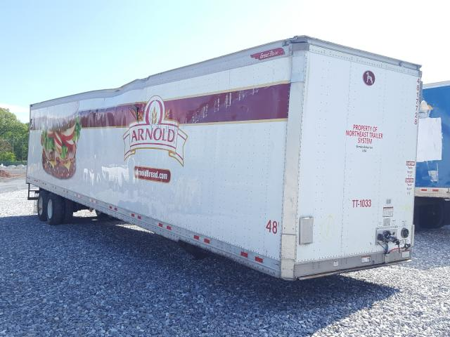 Salvage 2017 GREAT DANE TRAILER TRAILER - Small image. Lot 41376381