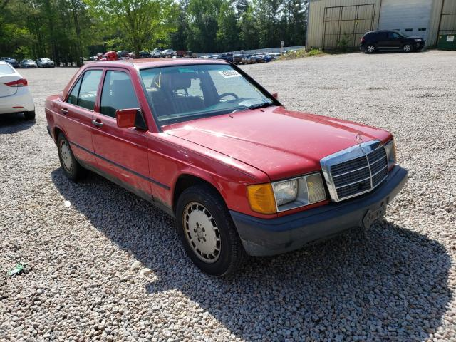 Mercedes-Benz 190 E 2.3 salvage cars for sale: 1986 Mercedes-Benz 190 E 2.3