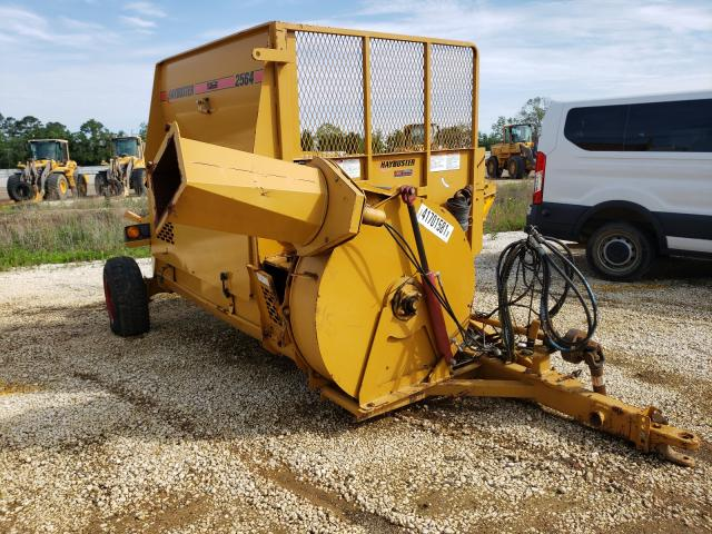 Salvage trucks for sale at Theodore, AL auction: 2014 HAY Buster