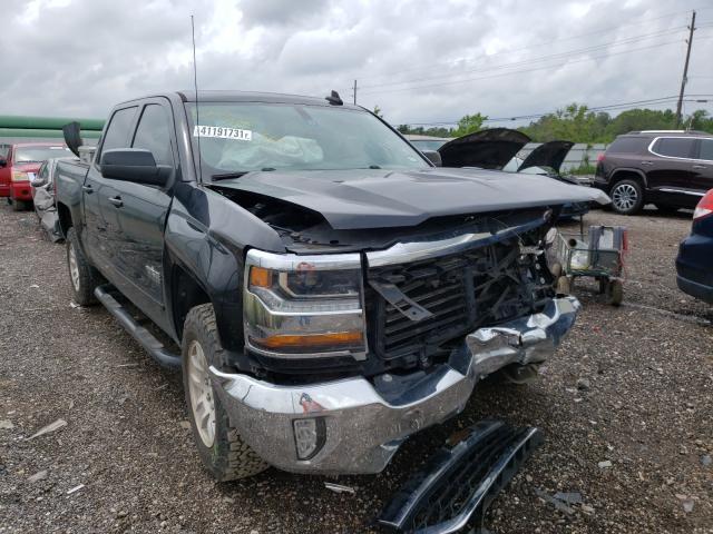 Salvage trucks for sale at Houston, TX auction: 2017 Chevrolet Silverado
