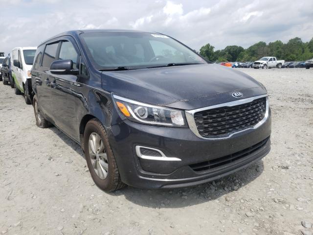 Salvage cars for sale from Copart Byron, GA: 2019 KIA Sedona LX