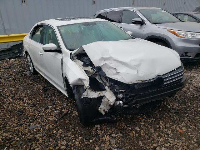 Salvage cars for sale from Copart Cudahy, WI: 2014 Volkswagen Passat SE