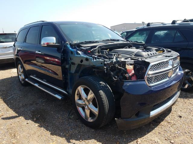 Salvage cars for sale from Copart Mercedes, TX: 2012 Dodge Durango CI