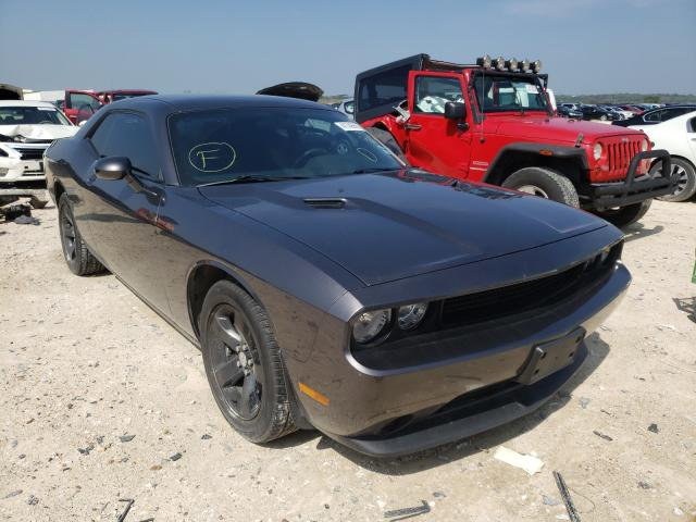 Salvage cars for sale at New Braunfels, TX auction: 2014 Dodge Challenger