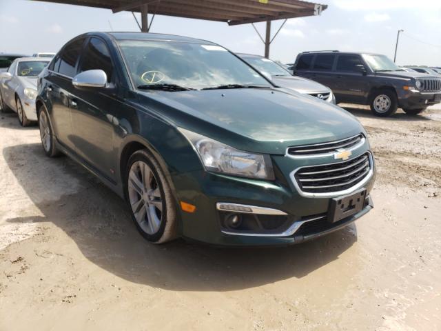 Hail Damaged Cars for sale at auction: 2015 Chevrolet Cruze LTZ