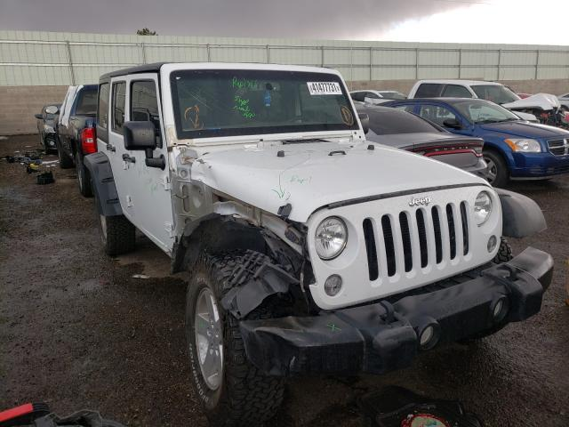 Salvage cars for sale from Copart Albuquerque, NM: 2017 Jeep Wrangler U