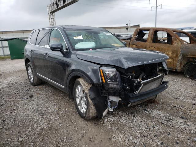 KIA salvage cars for sale: 2021 KIA Telluride
