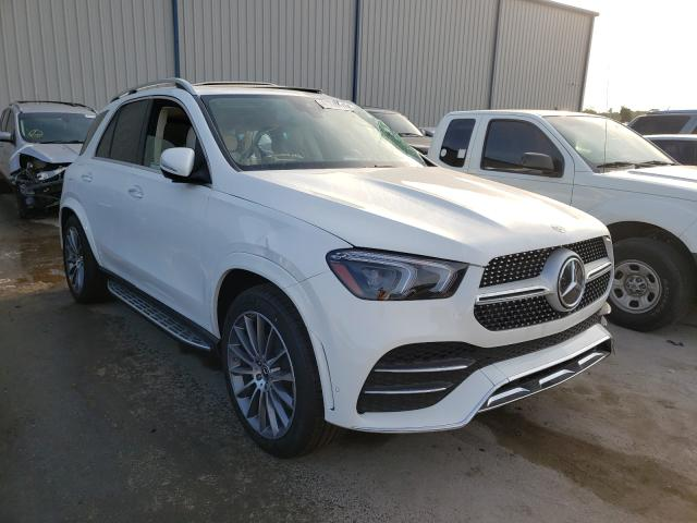 Salvage cars for sale from Copart Apopka, FL: 2021 Mercedes-Benz GLE 350