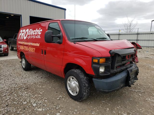 Salvage cars for sale from Copart Appleton, WI: 2011 Ford Econoline