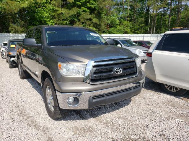 Salvage cars for sale from Copart Knightdale, NC: 2010 Toyota Tundra CRE