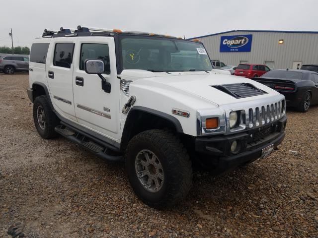 Salvage cars for sale from Copart Mercedes, TX: 2003 Hummer H2