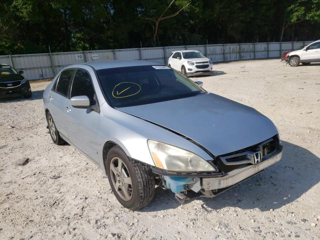 Salvage cars for sale from Copart Ocala, FL: 2005 Honda Accord Hybrid