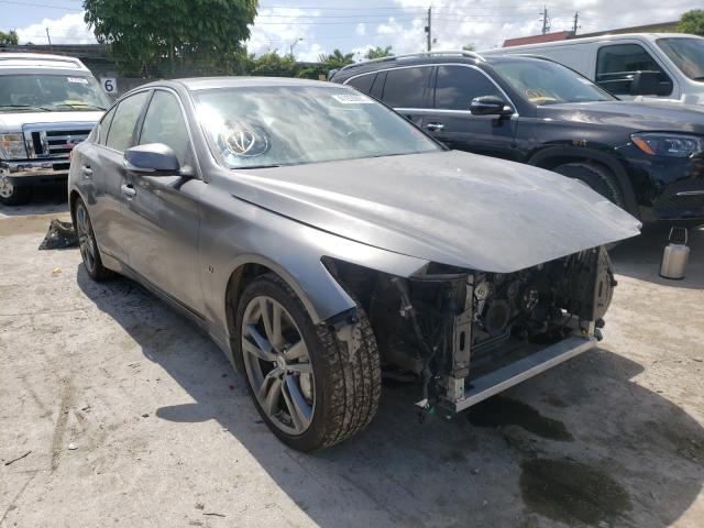 Salvage cars for sale from Copart Opa Locka, FL: 2015 Infiniti Q50 Base