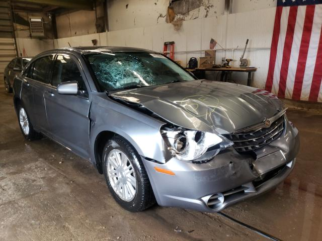 Salvage cars for sale from Copart Casper, WY: 2007 Chrysler Sebring TO