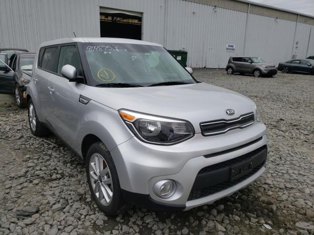 Salvage cars for sale at Windsor, NJ auction: 2019 KIA Soul +