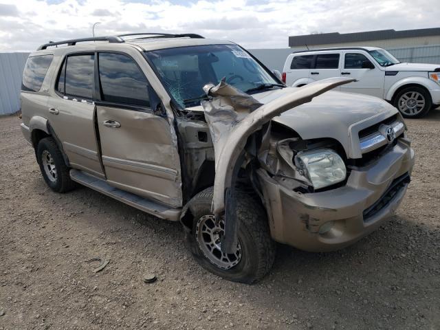 Vehiculos salvage en venta de Copart Bismarck, ND: 2006 Toyota Sequoia SR