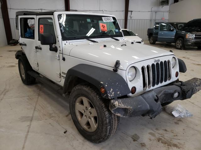 Salvage cars for sale from Copart San Antonio, TX: 2013 Jeep Wrangler U