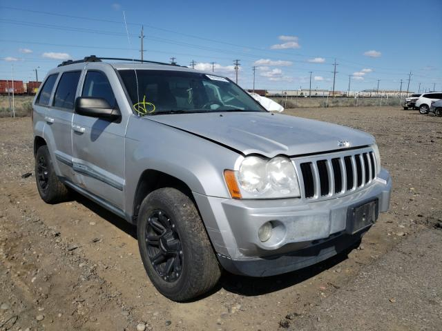 Salvage cars for sale from Copart Pasco, WA: 2007 Jeep Grand Cherokee
