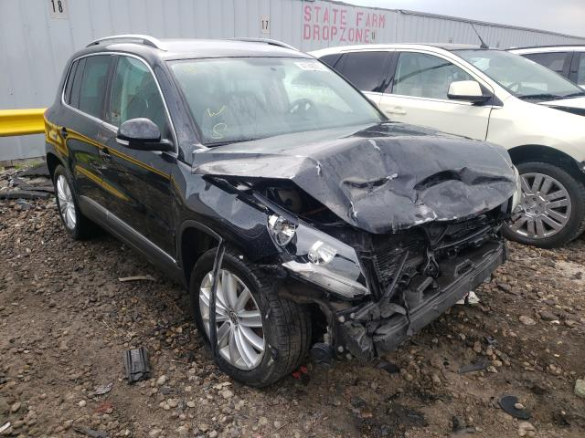 Salvage cars for sale from Copart Cudahy, WI: 2012 Volkswagen Tiguan S