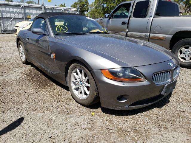 BMW Z4 salvage cars for sale: 2003 BMW Z4