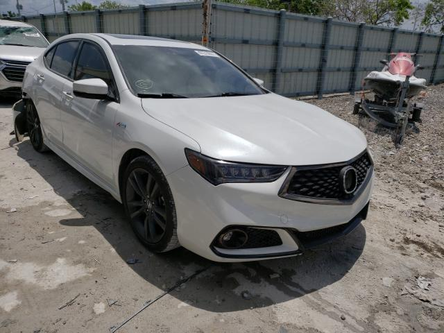 Salvage cars for sale from Copart Homestead, FL: 2019 Acura TLX Techno