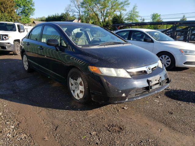 Salvage cars for sale from Copart Finksburg, MD: 2008 Honda Civic LX