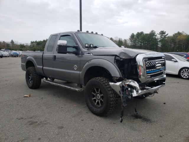 Salvage cars for sale from Copart Exeter, RI: 2011 Ford F250 Super