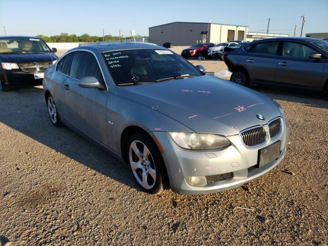 Salvage cars for sale from Copart San Antonio, TX: 2007 BMW 328 XI