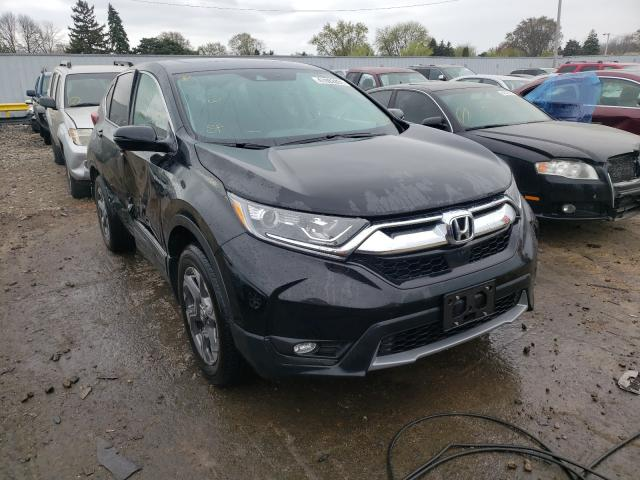 Salvage cars for sale from Copart Cudahy, WI: 2019 Honda CR-V EX