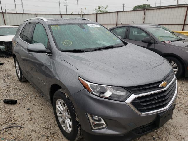 Salvage cars for sale from Copart Haslet, TX: 2018 Chevrolet Equinox LT