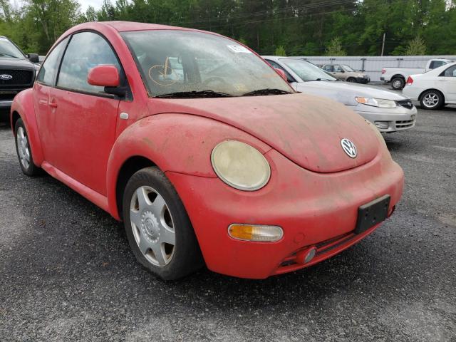 Salvage cars for sale from Copart Fredericksburg, VA: 2000 Volkswagen New Beetle