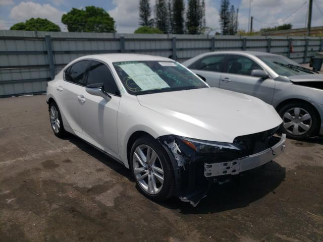 Salvage cars for sale from Copart Miami, FL: 2021 Lexus IS 300