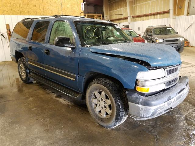 Salvage cars for sale from Copart Anchorage, AK: 2004 Chevrolet Suburban K