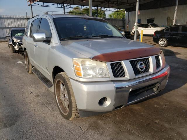 Salvage cars for sale from Copart Orlando, FL: 2006 Nissan Armada SE