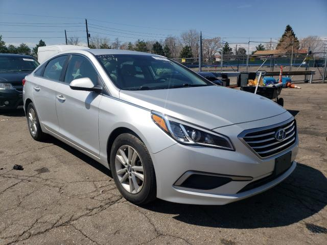 Salvage cars for sale from Copart Denver, CO: 2016 Hyundai Sonata SE