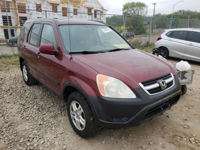 Salvage cars for sale from Copart Madison, WI: 2004 Honda CR-V EX