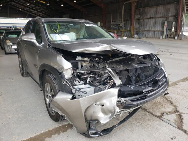 Salvage cars for sale from Copart Greenwell Springs, LA: 2016 Lexus NX 200T BA